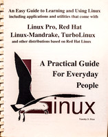 Cover to a book on Linux